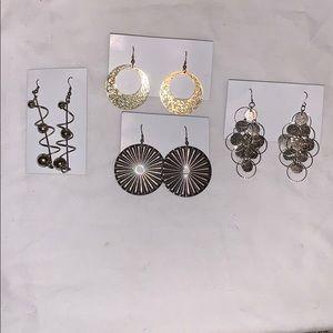 Accessories - 4 earrings